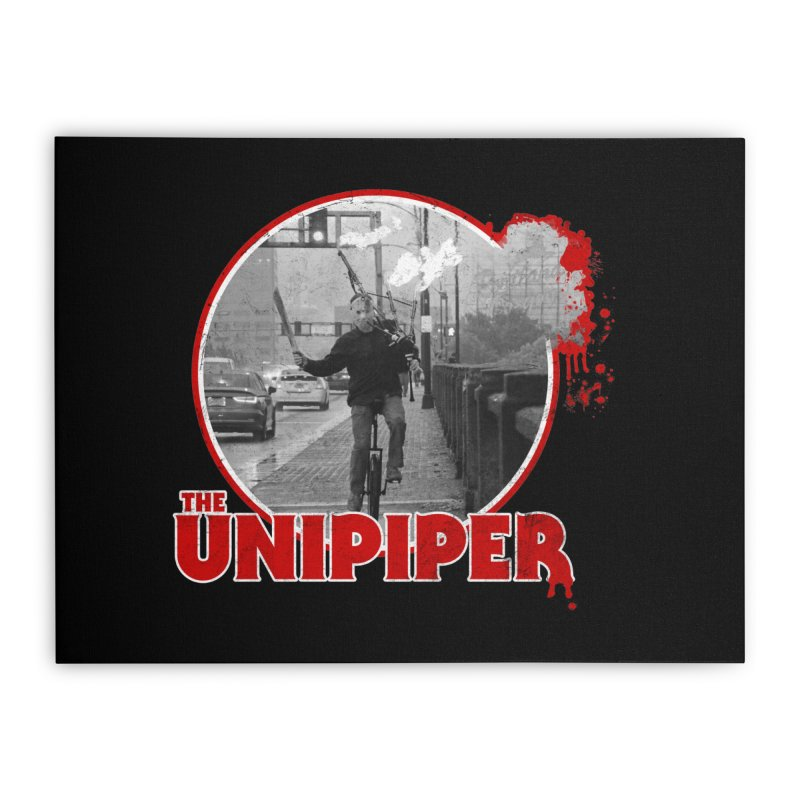 Friday the 13th in Portland Home Stretched Canvas by The Official Unipiper Shop!