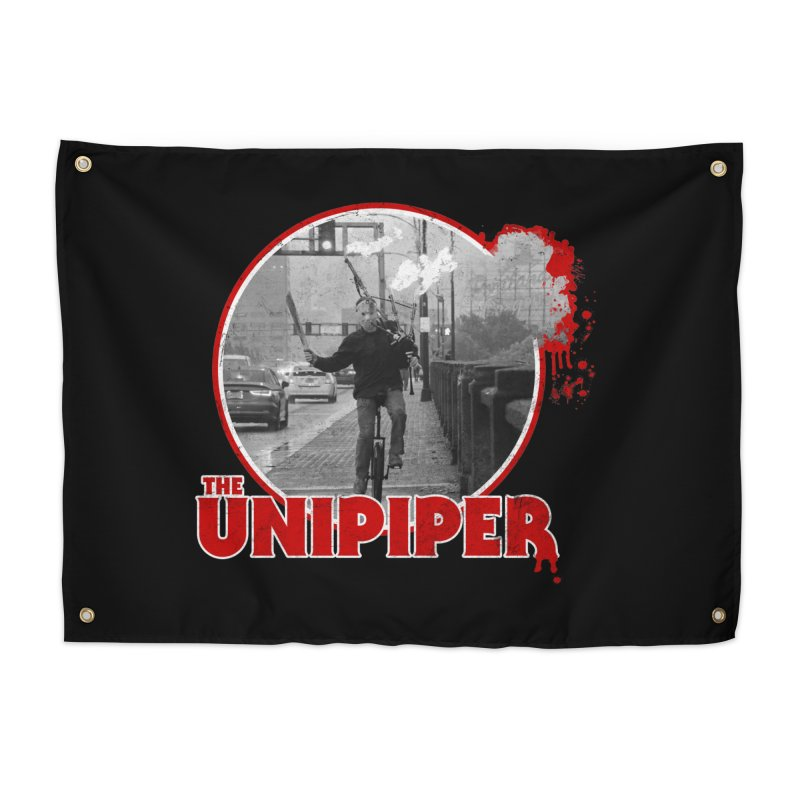 Friday the 13th in Portland Home Tapestry by The Official Unipiper Shop