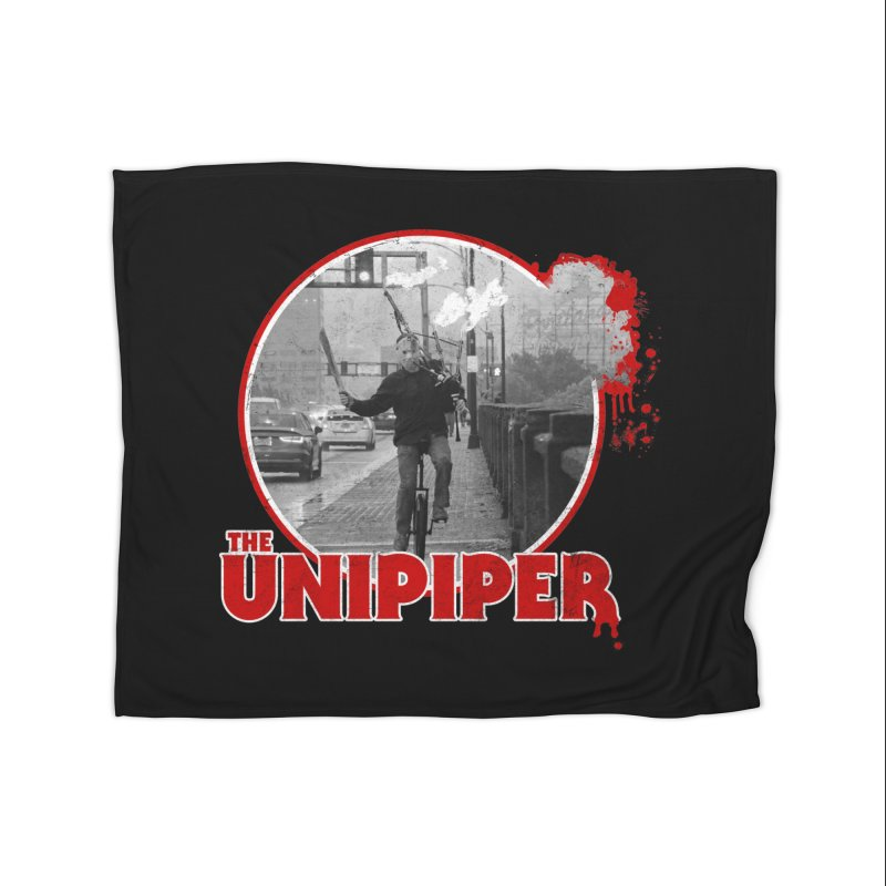 Friday the 13th in Portland Home Fleece Blanket Blanket by The Official Unipiper Shop!