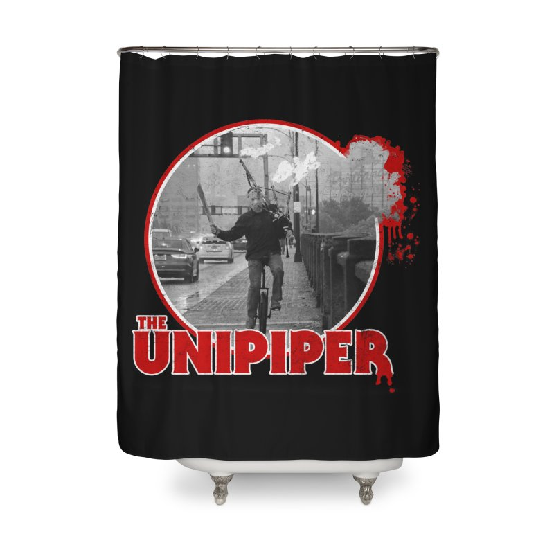 Friday the 13th in Portland Home Shower Curtain by The Official Unipiper Shop!