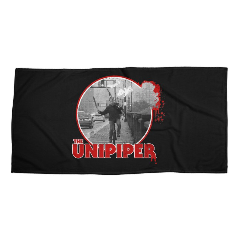 Friday the 13th in Portland Accessories Beach Towel by The Official Unipiper Shop!