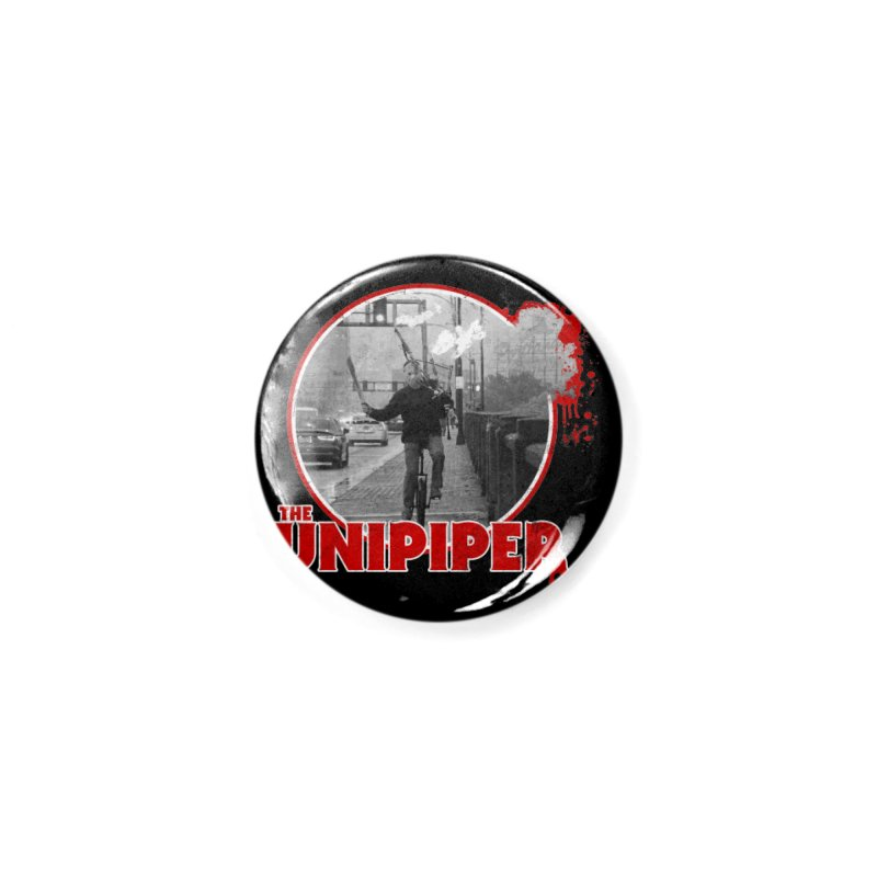 Friday the 13th in Portland Accessories Button by The Official Unipiper Shop!