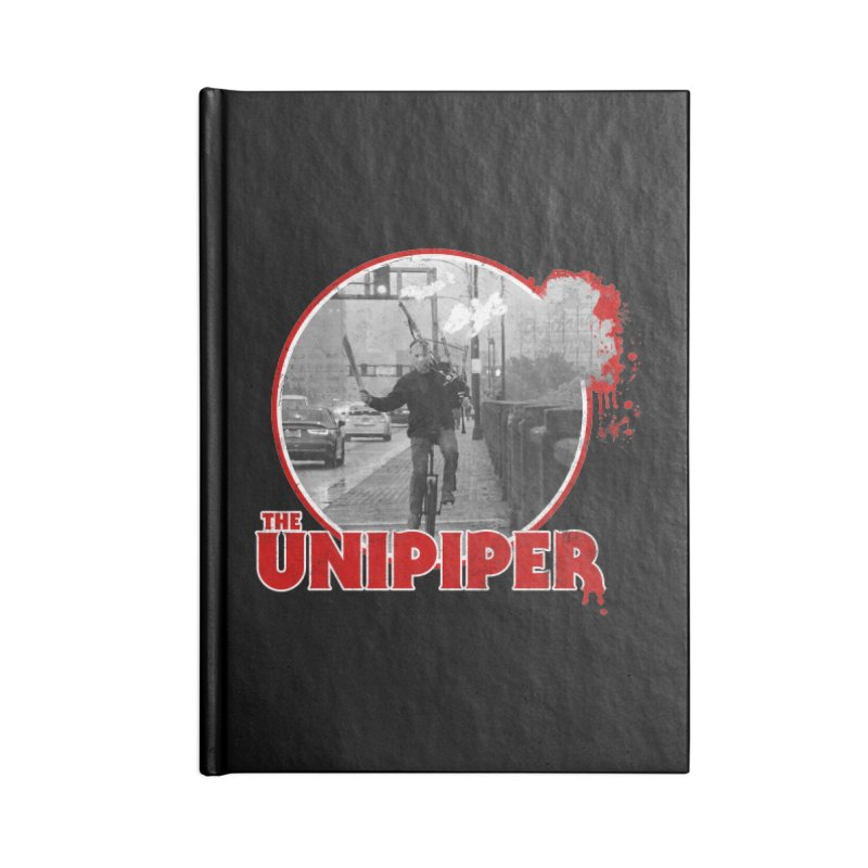 Friday the 13th in Portland Accessories Lined Journal Notebook by The Official Unipiper Shop!