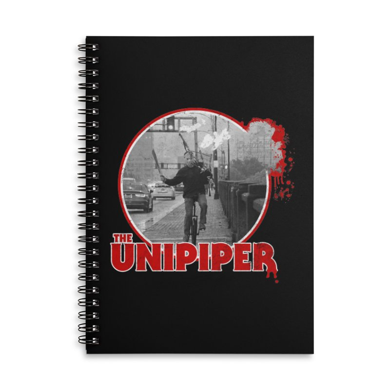 Friday the 13th in Portland Accessories Notebook by The Official Unipiper Shop