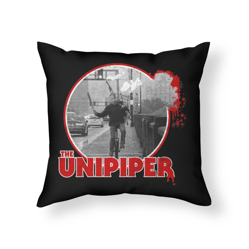 Friday the 13th in Portland Home Throw Pillow by The Official Unipiper Shop