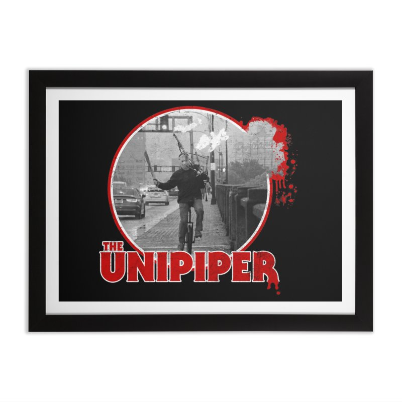 Friday the 13th in Portland Home Framed Fine Art Print by The Official Unipiper Shop!