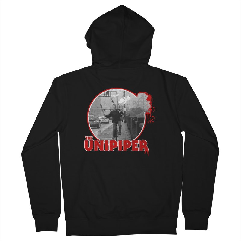 Friday the 13th in Portland Men's Zip-Up Hoody by The Official Unipiper Shop