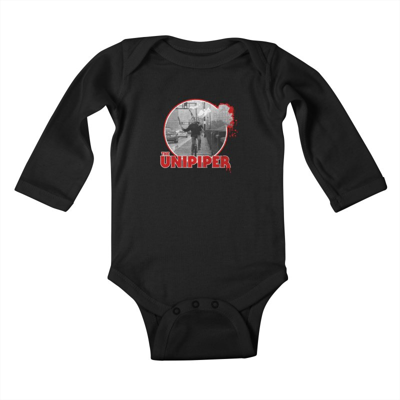 Friday the 13th in Portland Kids Baby Longsleeve Bodysuit by The Official Unipiper Shop!