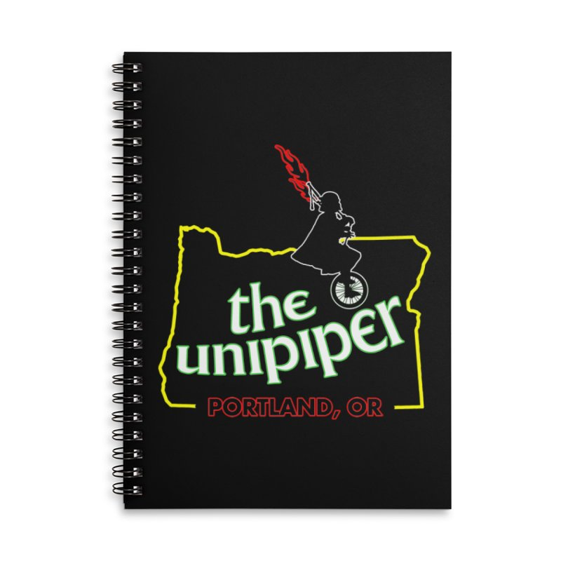 Home is Where The Unipiper Is Accessories Lined Spiral Notebook by The Official Unipiper Shop!