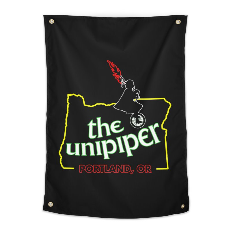 Home is Where The Unipiper Is Home Tapestry by The Official Unipiper Shop