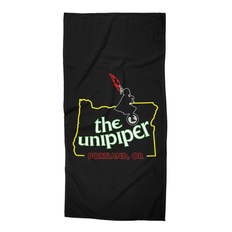Home is Where The Unipiper Is Accessories Beach Towel by The Official Unipiper Shop!