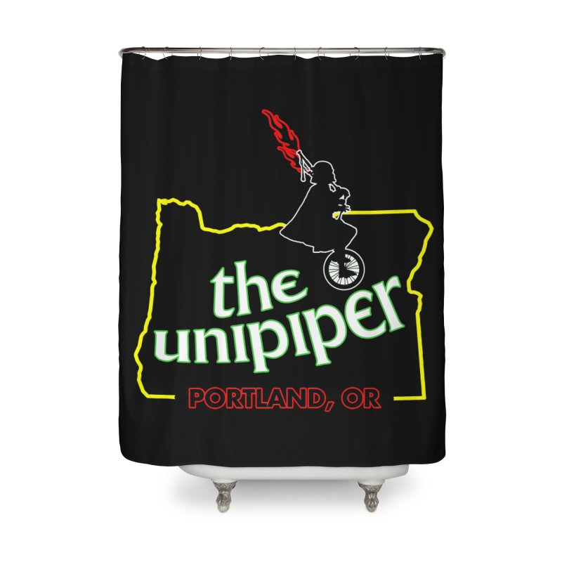 Home is Where The Unipiper Is Home Shower Curtain by The Official Unipiper Shop!