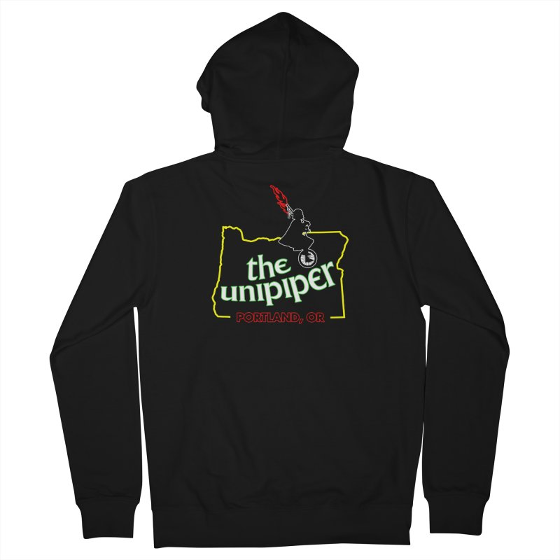 Home is Where The Unipiper Is Men's Zip-Up Hoody by The Official Unipiper Shop!