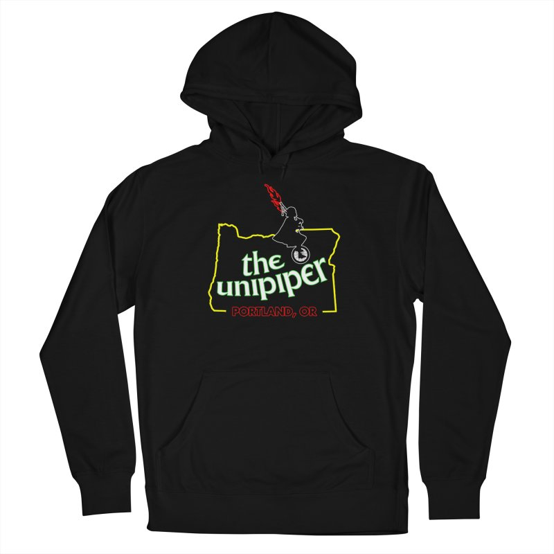 Home is Where The Unipiper Is Men's French Terry Pullover Hoody by The Official Unipiper Shop!