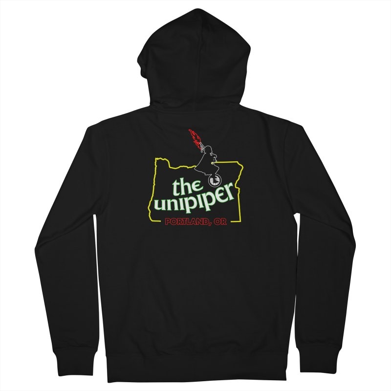 Home is Where The Unipiper Is Men's French Terry Zip-Up Hoody by The Official Unipiper Shop!
