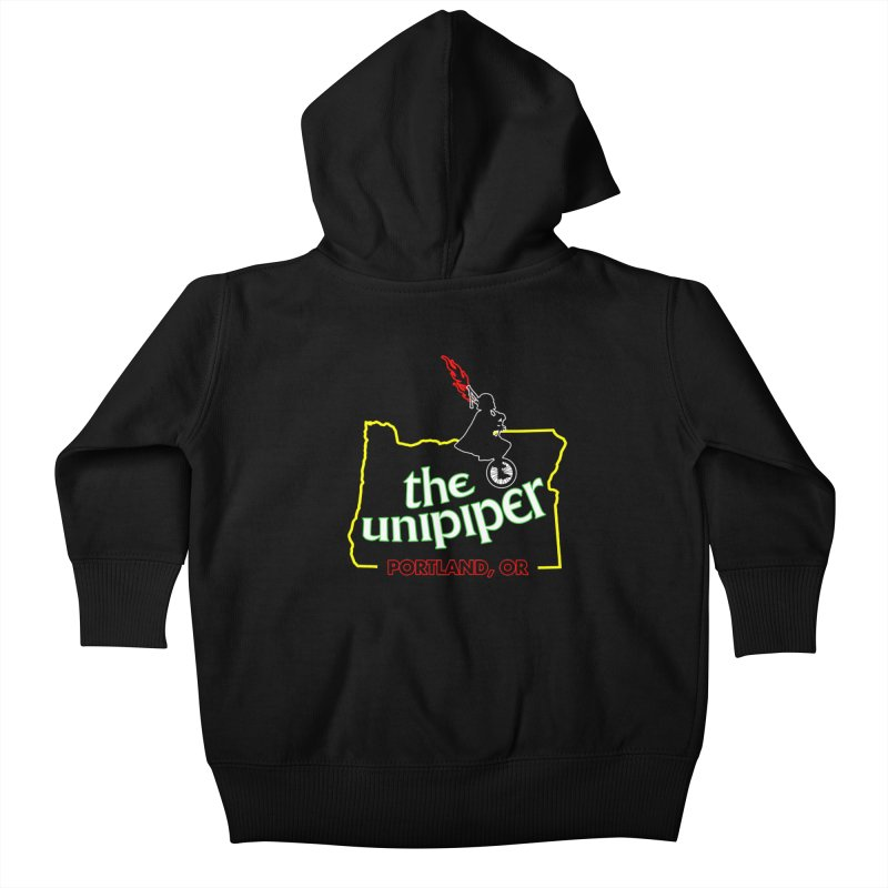 Home is Where The Unipiper Is Kids Baby Zip-Up Hoody by The Official Unipiper Shop