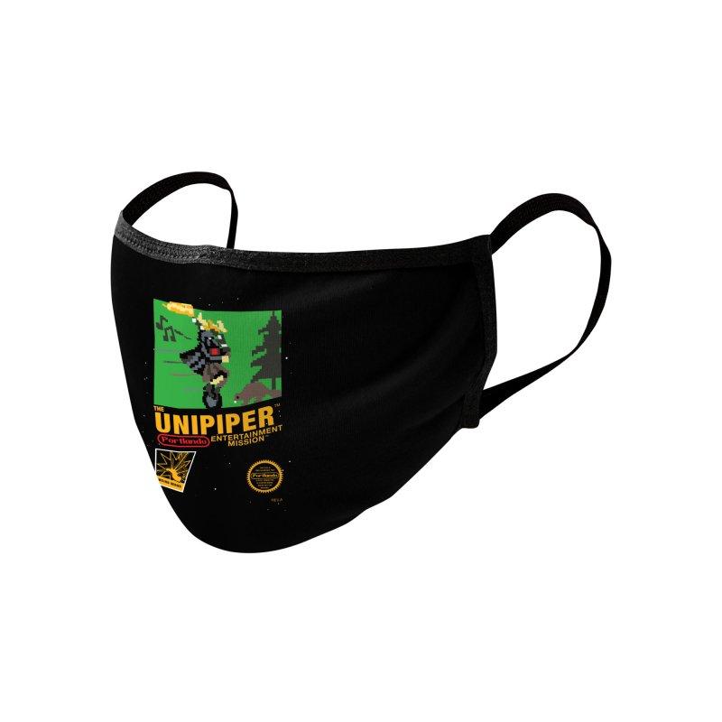 8-bit Retro Unipiper Accessories Face Mask by The Official Unipiper Shop