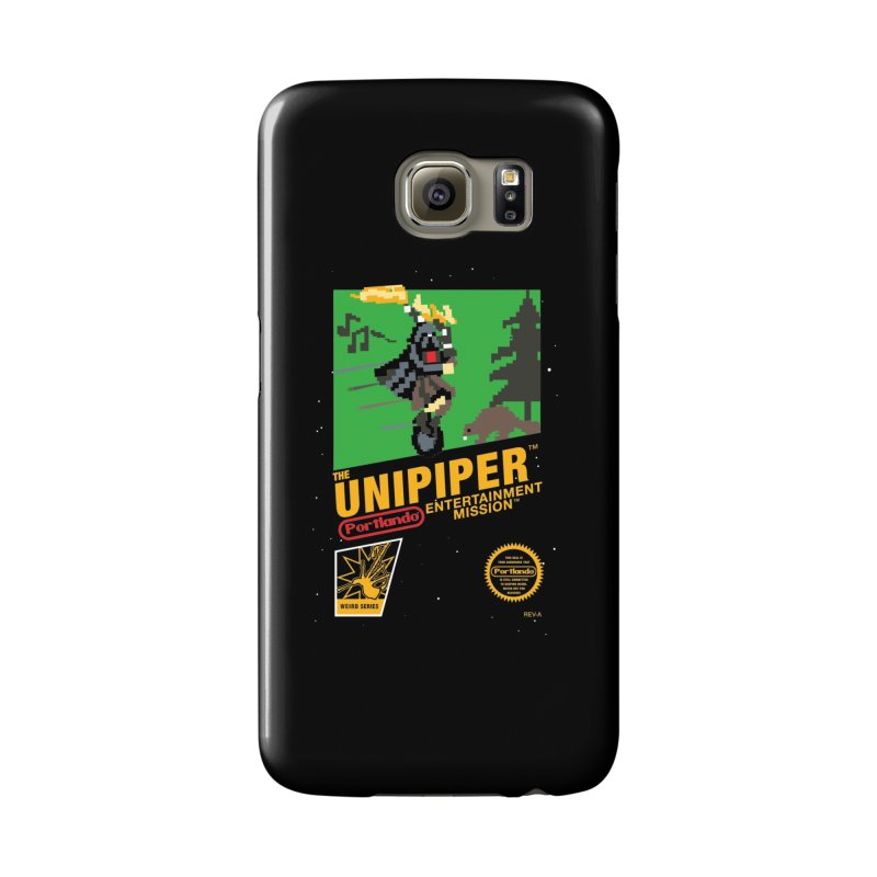 8-bit Retro Unipiper Accessories Phone Case by The Official Unipiper Shop!