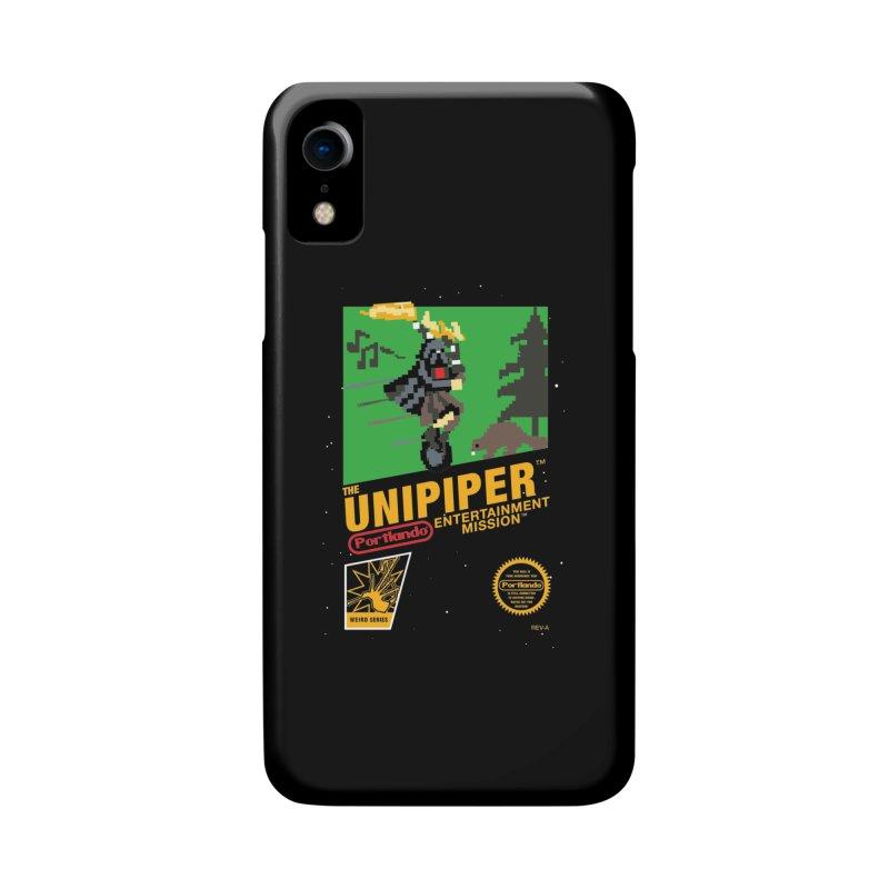 8-bit Retro Unipiper Accessories Phone Case by The Official Unipiper Shop