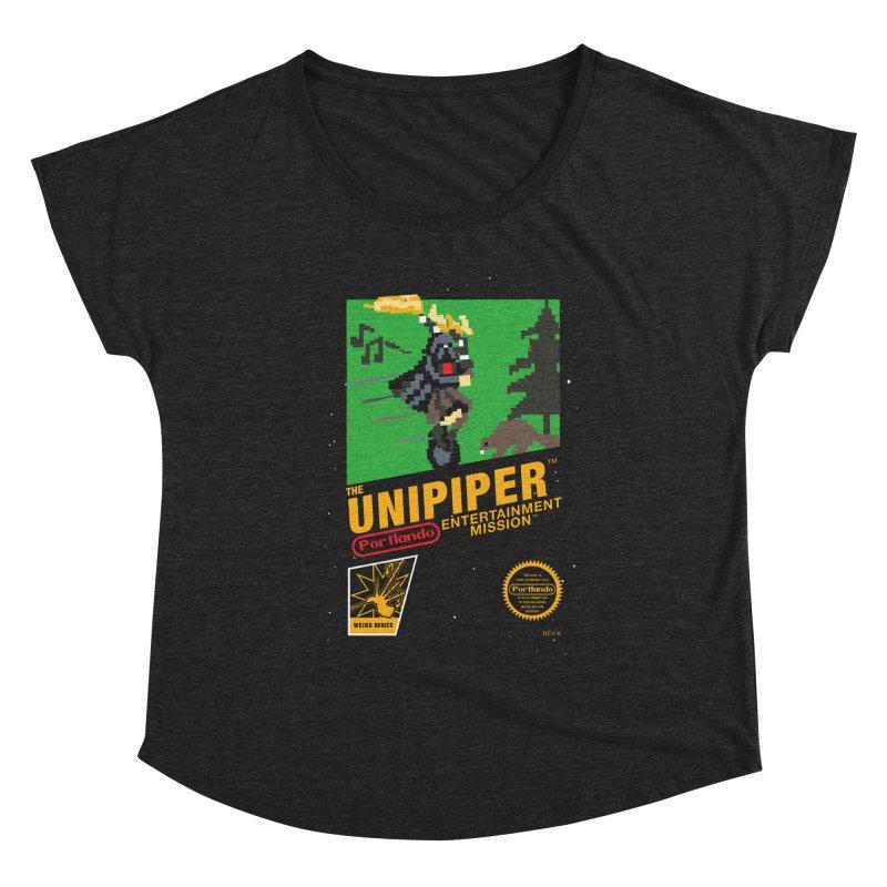 8-bit Retro Unipiper Women's Scoop Neck by The Official Unipiper Shop
