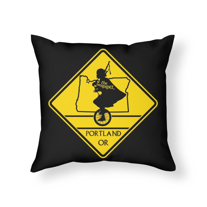 Unipiper Crossing Home Throw Pillow by The Official Unipiper Shop!