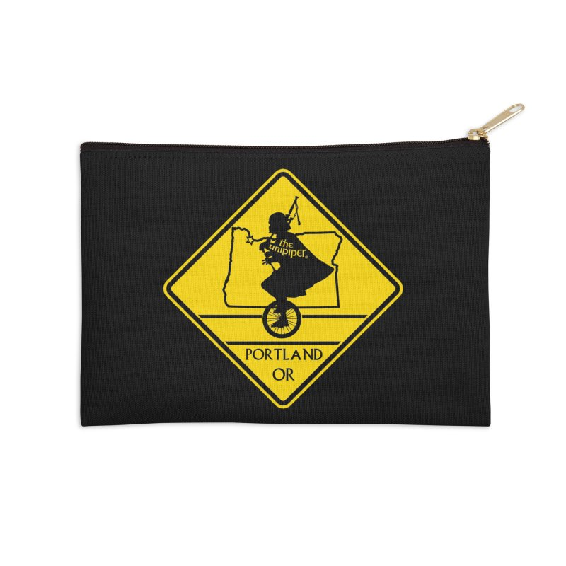Unipiper Crossing Accessories Zip Pouch by The Official Unipiper Shop!