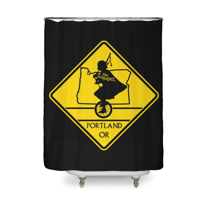Unipiper Crossing Home Shower Curtain by The Official Unipiper Shop!