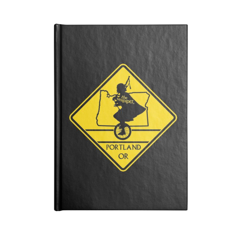 Unipiper Crossing Accessories Lined Journal Notebook by The Official Unipiper Shop!