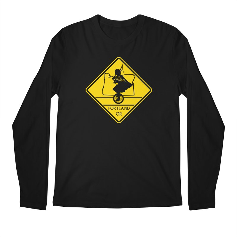 Unipiper Crossing Men's Regular Longsleeve T-Shirt by The Official Unipiper Shop!