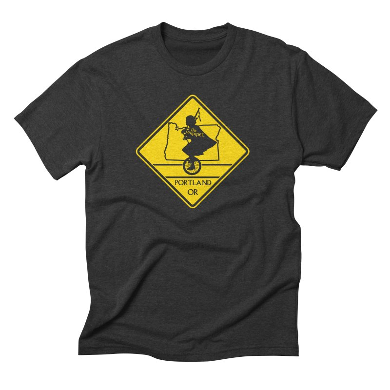 Unipiper Crossing Men's Triblend T-Shirt by The Official Unipiper Shop!