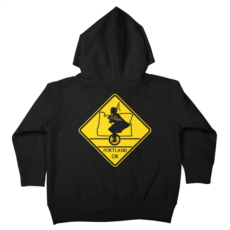 Unipiper Crossing Kids Toddler Zip-Up Hoody by The Official Unipiper Shop!