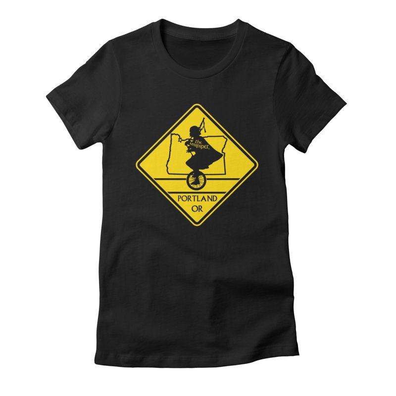 Unipiper Crossing Women's Fitted T-Shirt by The Official Unipiper Shop!
