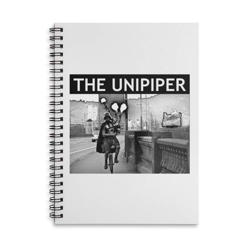 Welcome to Portland Accessories Lined Spiral Notebook by The Official Unipiper Shop!