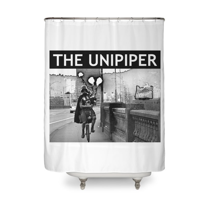 Welcome to Portland Home Shower Curtain by The Official Unipiper Shop!