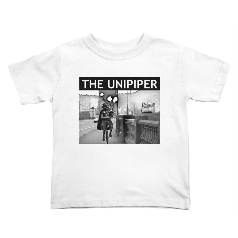 Welcome to Portland Kids Toddler T-Shirt by The Official Unipiper Shop!