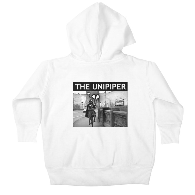 Welcome to Portland Kids Baby Zip-Up Hoody by The Official Unipiper Shop