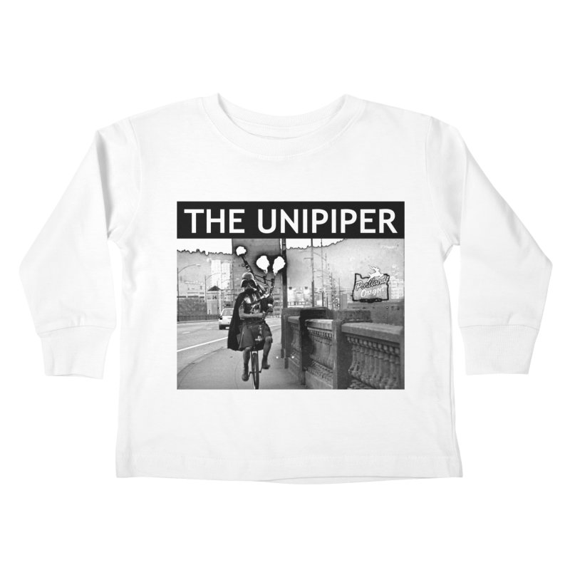 Welcome to Portland Kids Toddler Longsleeve T-Shirt by The Official Unipiper Shop!