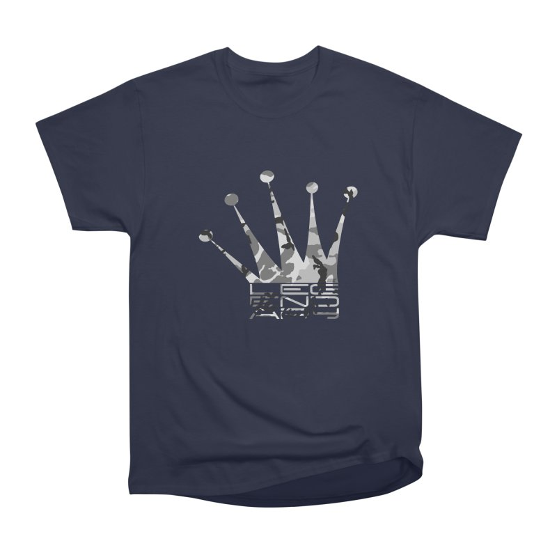 Legendary Crown - Snow Camo Edition Men's T-Shirt by uniquego's Artist Shop