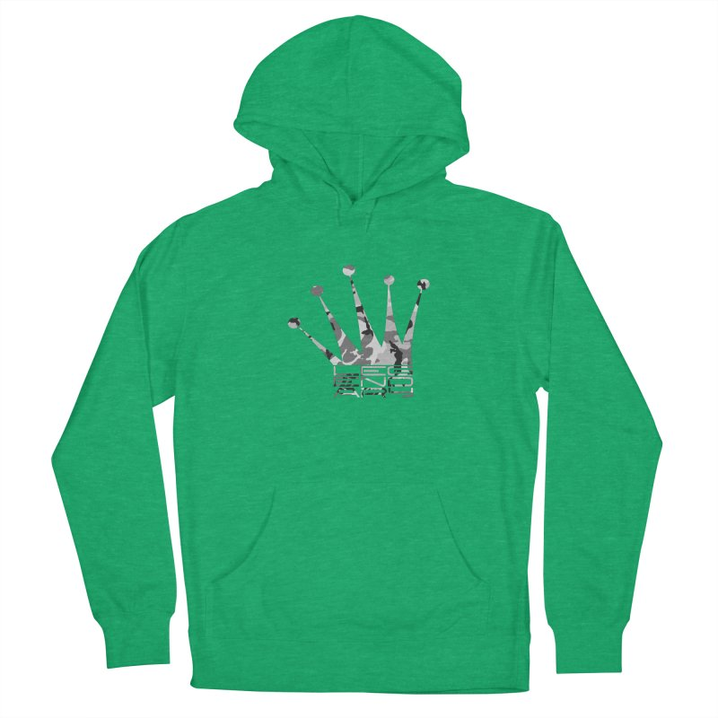 Legendary Crown - Snow Camo Edition Women's Pullover Hoody by uniquego's Artist Shop