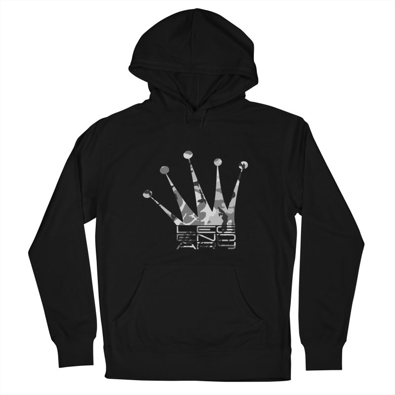 Legendary Crown - Snow Camo Edition Women's French Terry Pullover Hoody by uniquego's Artist Shop