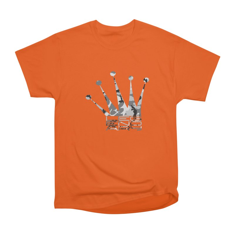 Legendary Crown - Snow Camo Edition Men's T-Shirt by uniquego's Artist Shop