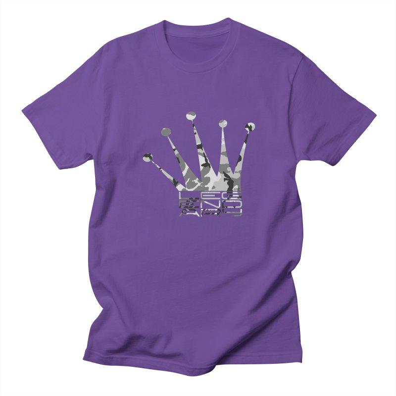 Legendary Crown - Snow Camo Edition Men's Regular T-Shirt by uniquego's Artist Shop