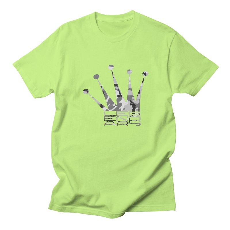 Legendary Crown - Snow Camo Edition Women's Regular Unisex T-Shirt by uniquego's Artist Shop