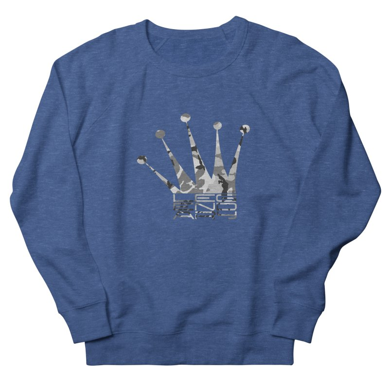 Legendary Crown - Snow Camo Edition Men's Sweatshirt by uniquego's Artist Shop