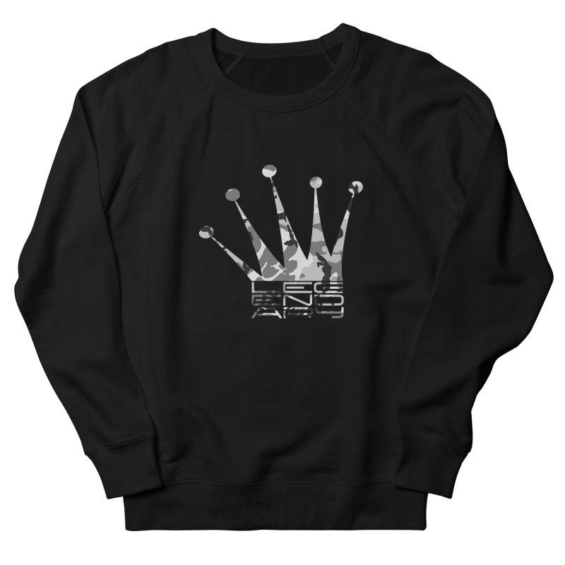 Legendary Crown - Snow Camo Edition Men's Sweatshirt by uniquego's Artist Shop