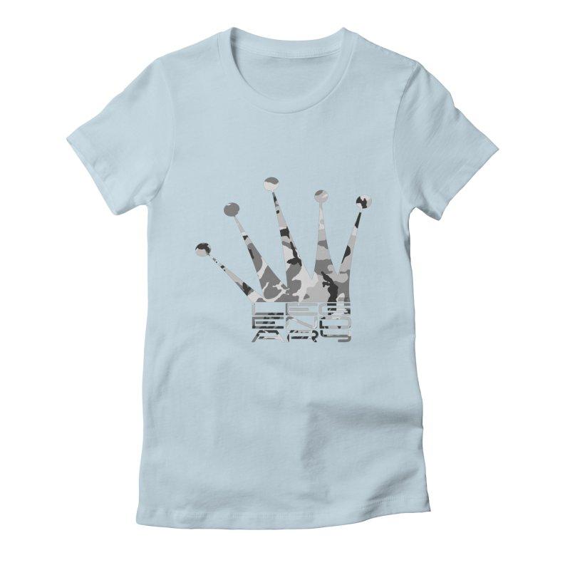Legendary Crown - Snow Camo Edition Women's T-Shirt by uniquego's Artist Shop