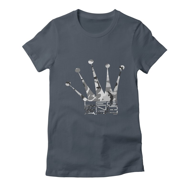 Legendary Crown - Snow Camo Edition Women's T-Shirt by uniquego's Artist Shop