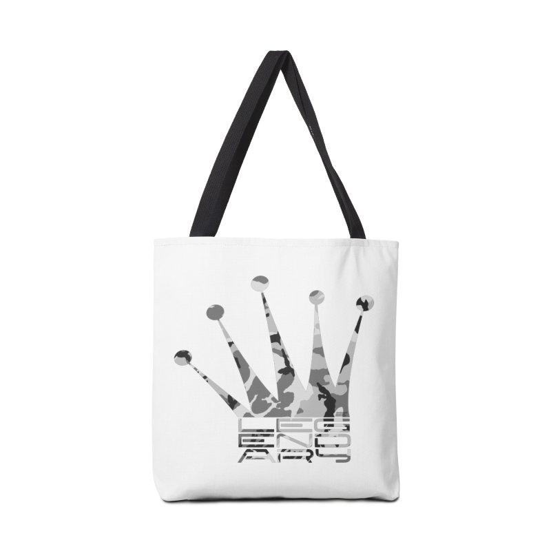 Legendary Crown - Snow Camo Edition Accessories Tote Bag Bag by uniquego's Artist Shop