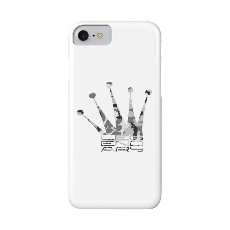 Legendary Crown - Snow Camo Edition Accessories Phone Case by uniquego's Artist Shop