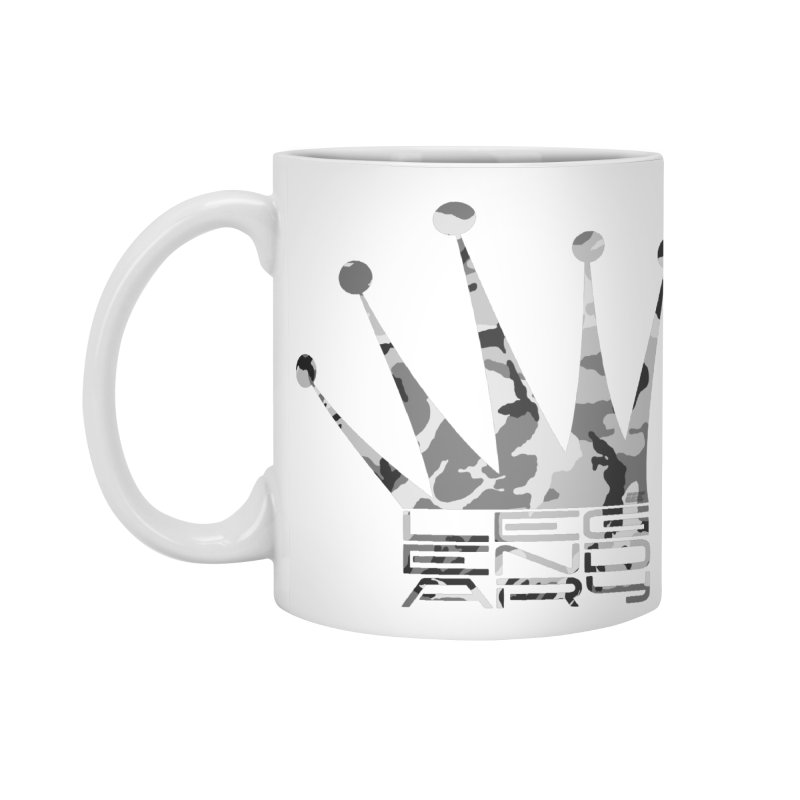 Legendary Crown - Snow Camo Edition Accessories Standard Mug by uniquego's Artist Shop